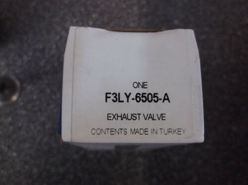 Genuine Ford Exhaust Valve F3LY-6505-A OEM Ford Lincoln Mercury
