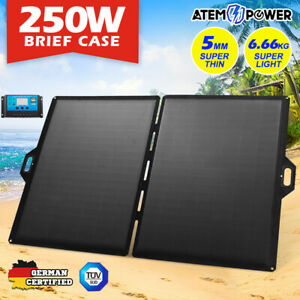 12V-250W-Folding-Solar-Panel-Blanket-Kit-12V-Battery-Charging-Regulator
