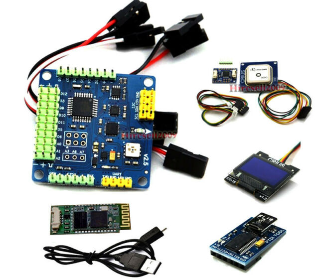 MWC MultiWii SE V2.5 Flight Controller W/ GPS NAV Module OLED USB Blutooth Combo