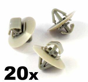 20x-Plastic-Clips-for-Vauxhall-Vivaro-Side-Moulding-Lower-Protection-Door-Trim