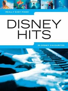 Really Easy Piano DISNEY Hits Learn to Play Frozen LAVA Starter PIANO Music Book