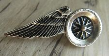 MOTORRAD Pin / Pins: WINGS on WHEEL - Biker- Motorcycle - 4,2 cm groß - Kult!