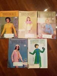 Details About Vintage Workbasket Magazine Crochet Knit Patterns 5 Issues