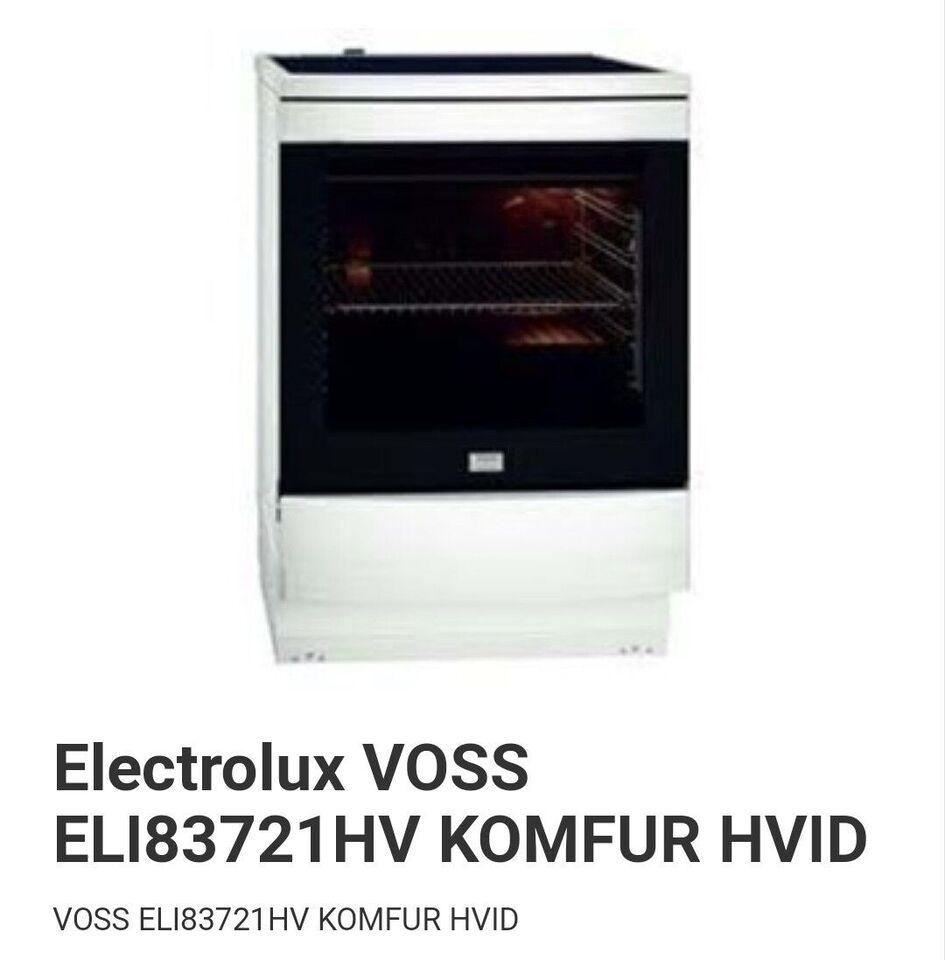 Induktionskomfur, Voss, b: 60 d: 60 h: 90