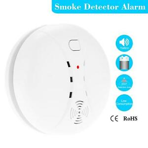 smart house wireless photoelectric home security system smoke detector n46g ebay. Black Bedroom Furniture Sets. Home Design Ideas