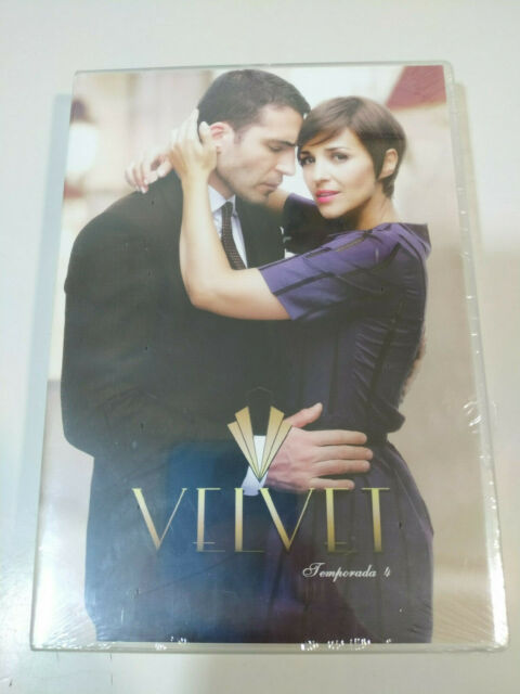 Velvet Temporada 4 Completa Paula Echevarria Miguel Angel Silvestre 4x DVD - T