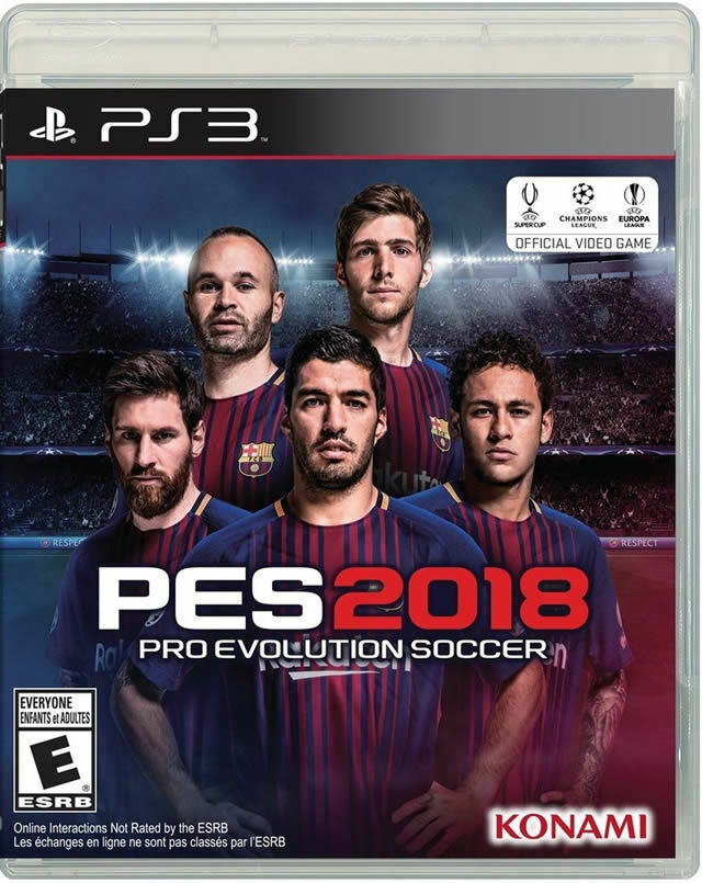Pro Evolution Soccer 2018 (Sony PlayStation 3, 2017)