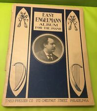 Easy Engelmann Album for the Piano Music Notes. Rare (1910)