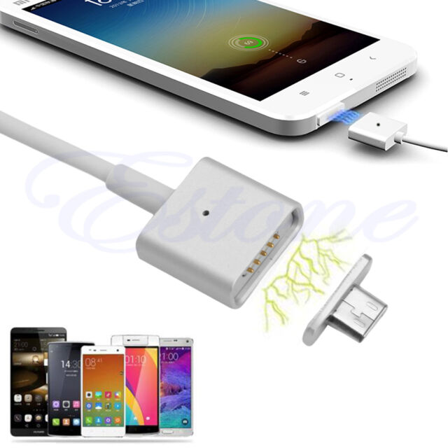 Micro USB Magnetic Adapter Charger Cable for Samsung Galaxy S6/ S6+ Edge HTC LG