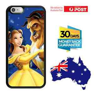 TPU-Bumper-Cover-Case-Disney-Princess-Beauty-And-The-Beast-Belle-iPhone-Galaxy