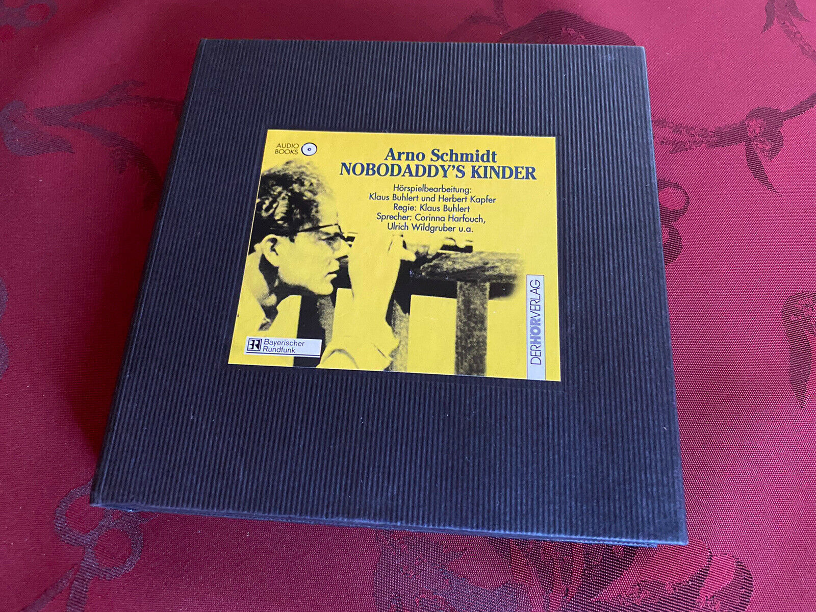 Arno Schmidt * Nobodaddys Kinder * Luxusausgabe Hörspiele 4 CD* Hörverlag * rar - Arno Schmidt