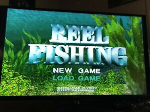 Reel Fishing Ps1 Ps2 Playstation Game Complete 719593050018 Ebay