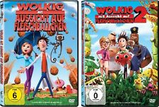2 DVDs * WOLKIG MIT AUSSICHT AUF FLEISCHBÄLLCHEN 1 + 2 IM SET # NEU OVP <