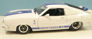 1-18-Custom-made-034-Street-Outlaws-034-white1978-Mustang-II-drag-car-pro-street