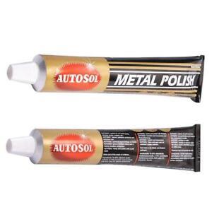 autosol solvol chrome polish aluminium metal paste polish car motorcycle ebay. Black Bedroom Furniture Sets. Home Design Ideas