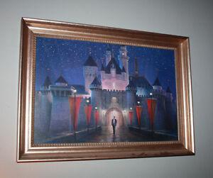 WALT'S MAGIC MOMENT Mary Poppins Artist Peter Ellenshaw Giclee Walt Disney Art