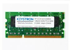 CE467A 512MB DDR2 200pin DIMM HP LaserJet CP4025 series