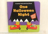 One Halloween Night: A Spooky Seek-and-count Lift The Flap Book By Salina Yoon