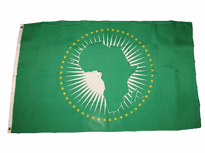 3x5 Africa African Union 100D Flag 3/'x5/' Brass Grommets Fade Resistant