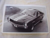 1968 Rambler Amc Amx 11 X 17 Photo Picture