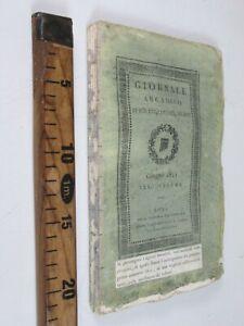 GIORNALE-ARCADICO-DI-SCIENZE-LETTERE-ED-ARTI-GIUGNO-1821-VOLUME-30-SC171-M
