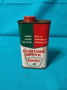 Vintage Sinclair Tin Can