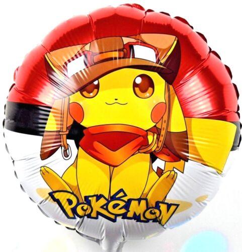 R17F15 Helium Folienballons Pokemons GO Pikachu Kinder Geburtstags Party balloon