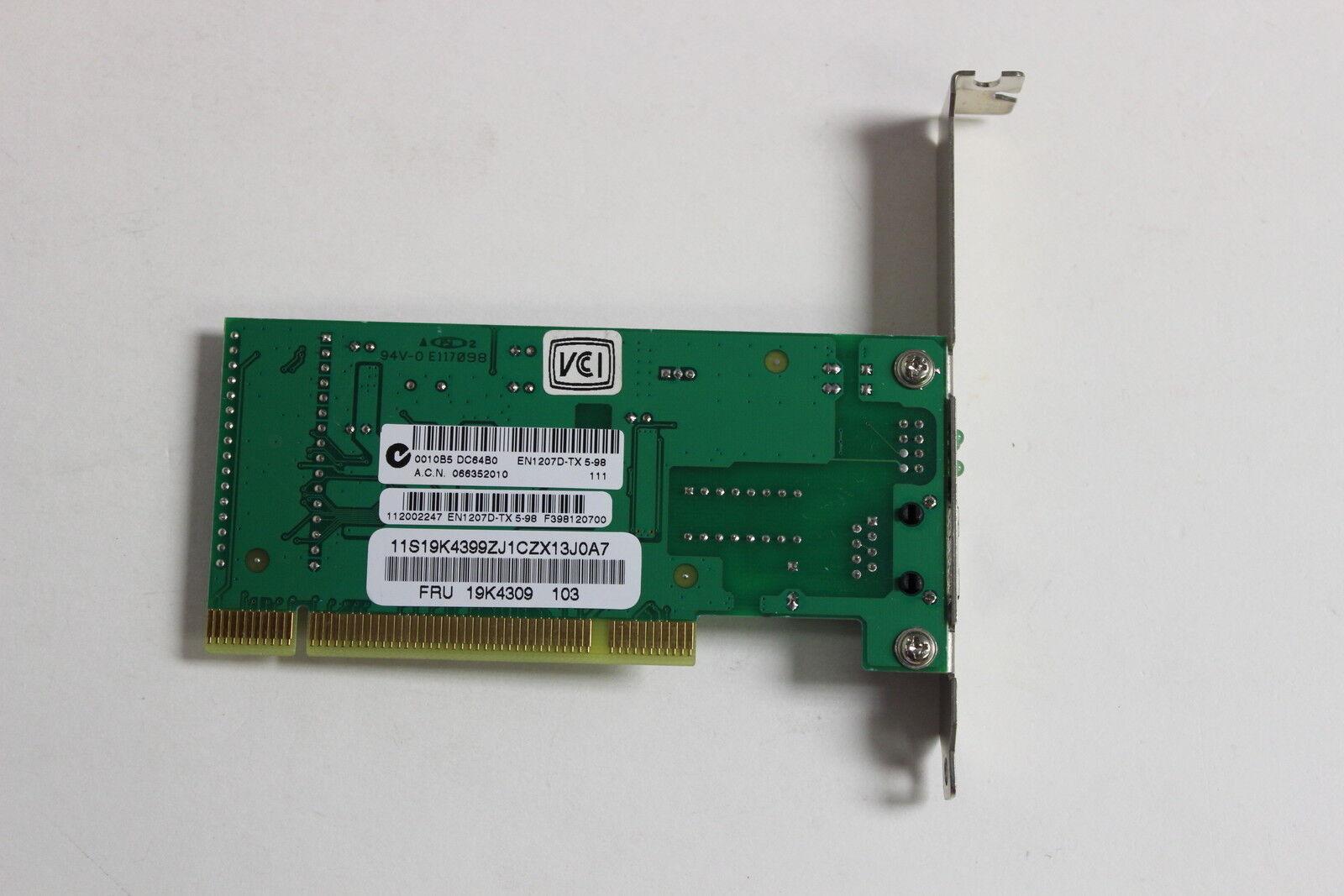 NEW DRIVERS: EN1207D TX PCI
