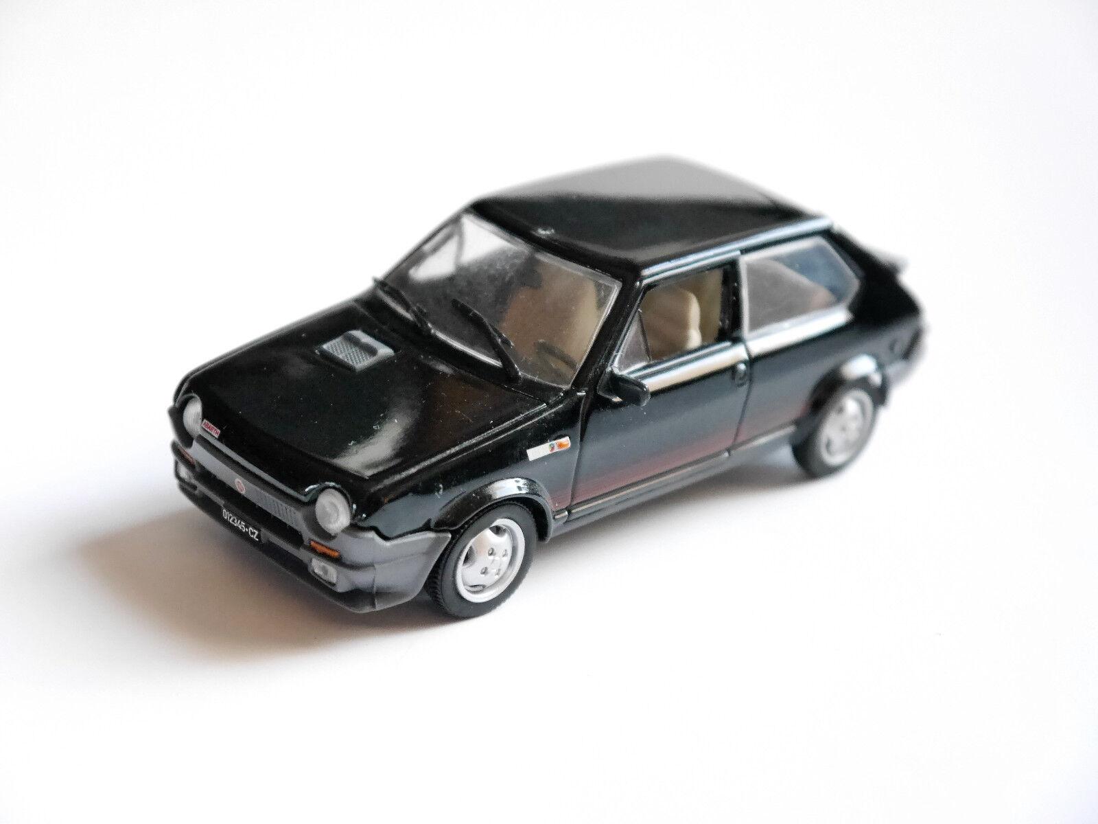 Fiat Ritmo Abarth 2000 en nero Nero nero estrella negra nero, Ixo en 1 43