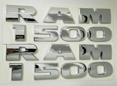 2011 Dodge Ram 1500 2500 OEM Emblem Chrome Logo Sign Letter A 09 10 11 12 13
