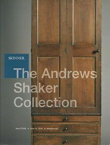 Skinner Shaker Furniture Boxes Americana Andrews Collection Auction Catalog 2014 Ebay