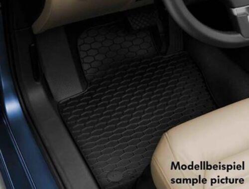 Originales de VW Touareg 7p alfombra de goma goma tapices 4 piezas negro 7p1061550a 041