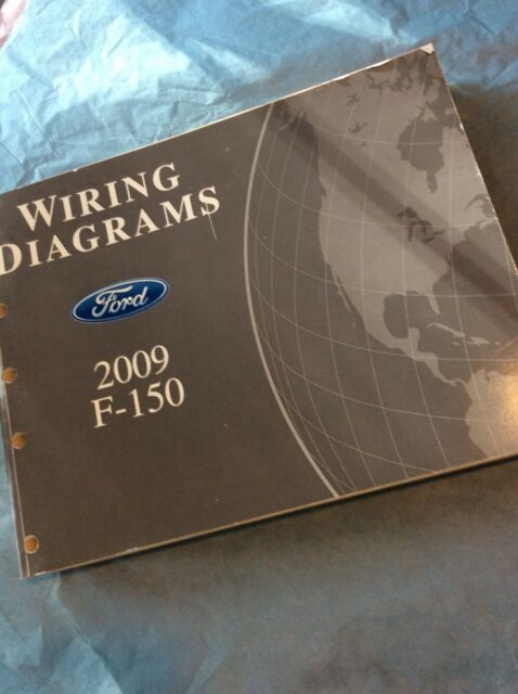 2009 Ford F150 Electrical Wiring Diagram Manual Book