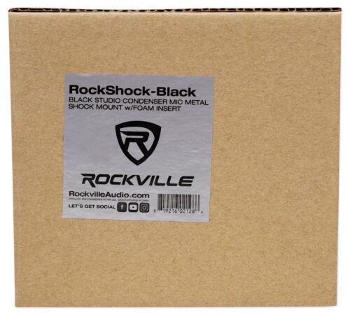 Black Metal Shock Mount w//Foam For MXL V67G HE Condenser Studio Microphone