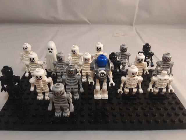 Lego NEW TYPE WHITE SKELETON Minifigures Ninjago Castle Figure Minifig