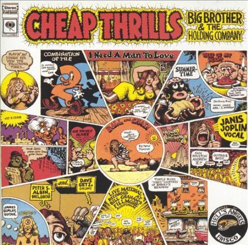 JOPLIN JANIS - CHEAP THRILLS (180 GR.) NEW VINYL RECORD