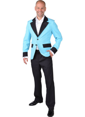 XS-XXL Turquoise Teddy Boy // Band Show Jacket