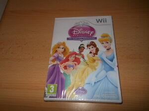 Disney-Princess-My-Fairytale-Adventure-NEW-SEALED-Nintendo-Wii-pal