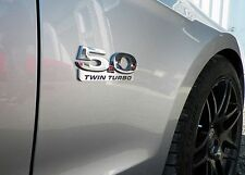 2011-2014 Billet Coyote Emblems (Coyote, Turbocharged, Supercharged, Twin Turbo)