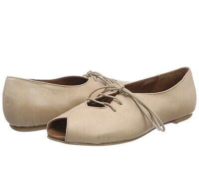 LiliMill Womens Open Toe Ballet Flats Pink Quarzo UK 6.5 EUR 39 Shoes Salmon   eBay