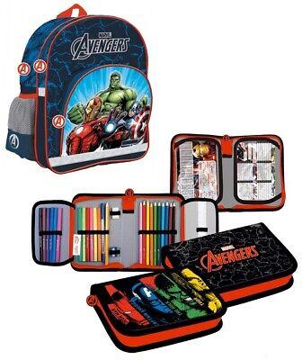 Thor Federmäppchen Federmappe Federtasche Mäppchen Etui 28 Teile Marvel Avengers
