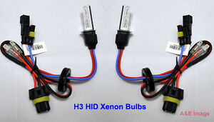 H3 12000K 35W HID Xenon Replacement 2 Bulb for Headlight lamps Light Purple Blue