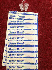 BETTER BREATH NASAL STRIPS & ONE PAIR NASAL DILATORS SLEEP RIGHT NO SNORE TRY IT
