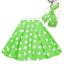 ROCK-N-ROLL-POLKA-DOT-SKIRT-21-034-Length-039-50s-GREASE-LADIES-FANCY-DRESS-COSTUME Indexbild 4