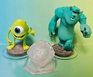 DISNEY-INFINITY-1-0-2-0-3-0-Monsters-Inc-Crystal-Sulley-Mike-Wazowski-Sully-Lot
