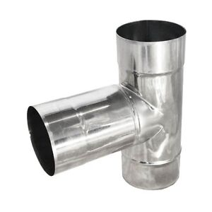 Stainless Steel T Pipe Chimney Flue Liner T Piece