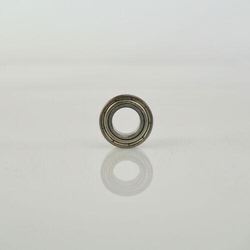 Radial Chromstahl Miniatur Kugellager 10 x 19 x 7 mm geschlossen partCore 63800Z