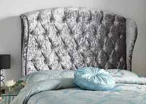 Image Is Loading Beatrice High Deep Oned 6ft Super Kingsize Headboard