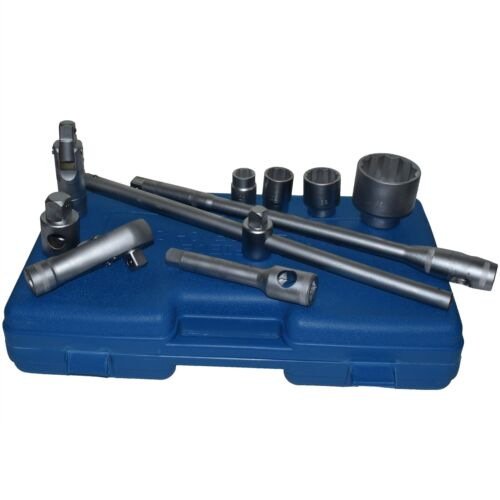 """65mm Metric Sizes Ratchet TE5 26pc 3//4/"""" dr and 1/"""" dr Shallow Socket Set 21mm"""