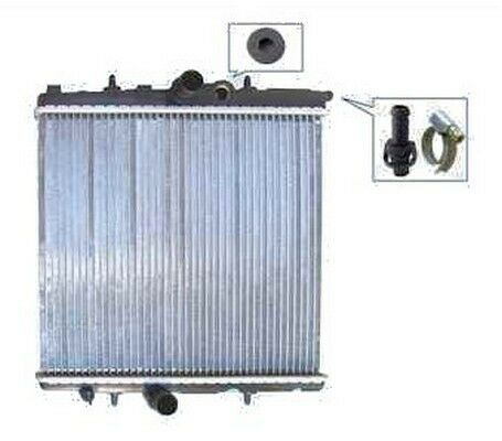 Peugeot 206 2Ac 1998-2000 Oem Radiator Coolant Cooling Replacement Part